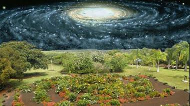 Los jardineros de la Galaxia (en el Planetario de Pamplona y el Botánico de Madrid)