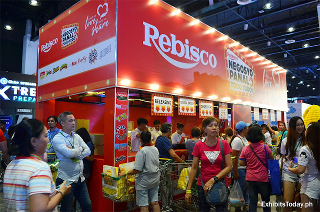 Rebisco Tradeshow Display