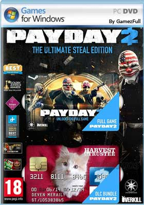 PAYDAY 2 Ultimate Edition PC [Full] Español [MEGA]