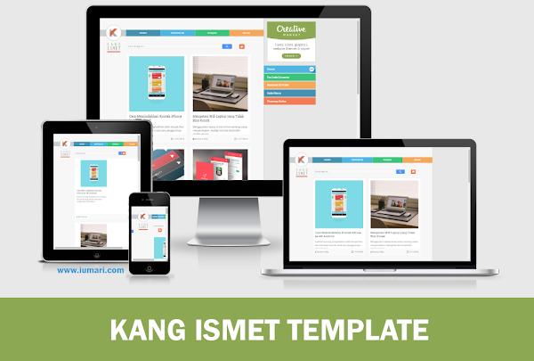 Download Template Blog Kang Ismet