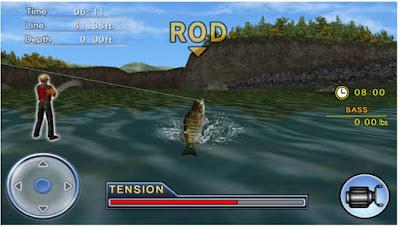 Memancing Ikan Bass 3D_3