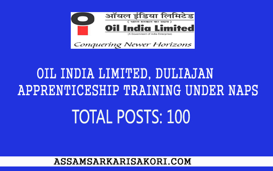 Oilfield Jobs Operator Asst Trainee Odessa Tx: Oil India Limited, Duliajan Apprenticeship Training Under