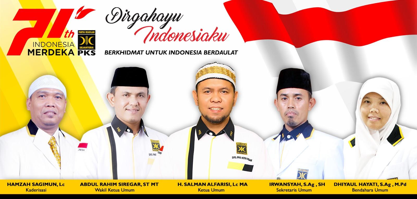 Selamat Hari Ulang Tahun Republik Indonesia yang ke-71