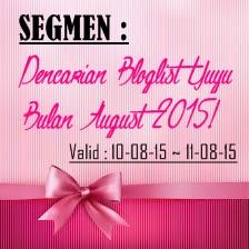 PENCARIAN BLOGLIST YUYU BULAN AUGUST 2015
