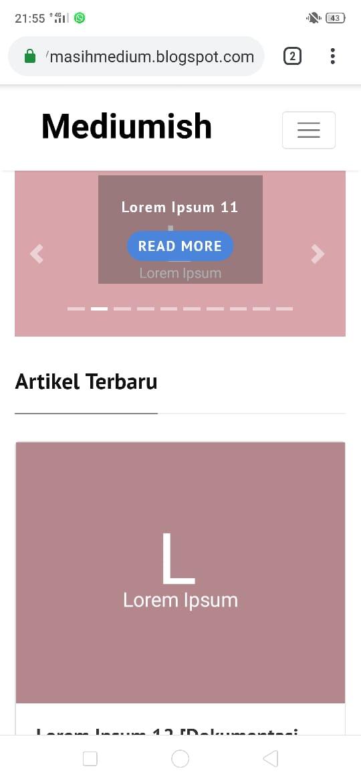 Download Template Blogger Mirip Website (YouTube, LK21, Google, YouTube, JalanTikus)
