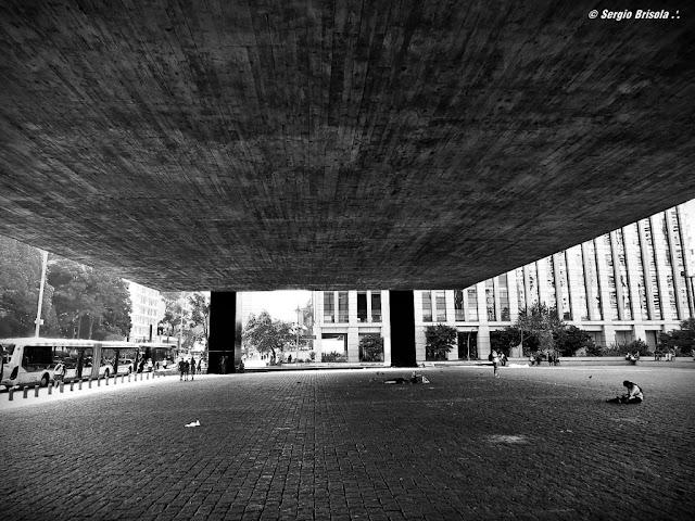 Perspectiva do Vão do MASP (Museu de Arte de São Paulo) - Avenida Paulista