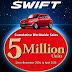 Suzuki Swift has now sold 5 million units globally
