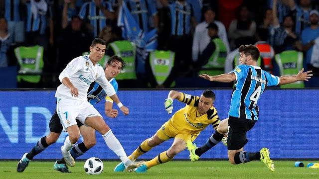 Berita Terhangat [Video] Cuplikan Gol Real Madrid 1-0 Gremio: Berkat Ronaldo, Real Madrid Raih Trofi Piala Dunia Antarklub 2017