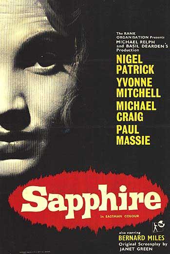 Sapphire (ΤΟ ΜΥΣΤΙΚΟ ΤΗΣ ΣΑΠΦΕΙΡΑΣ) (1959) DVDRip ταινιες online seires xrysoi greek subs