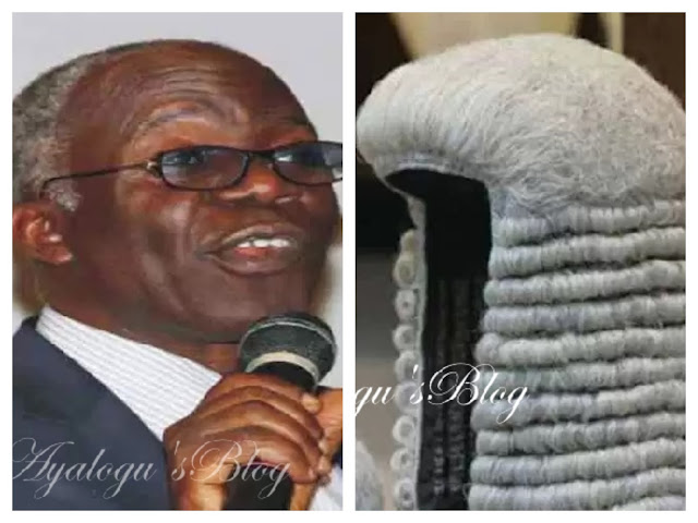 Senior lawyer Falana reveals how to trace corrupt court judges in Nigeria, says they are known in judiciary