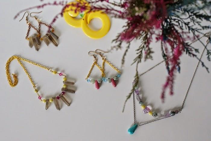 bohemian jewelry stones gypsy crystals