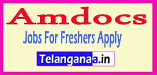 Amdocs  Recruitment 2017 Jobs For Freshers Apply