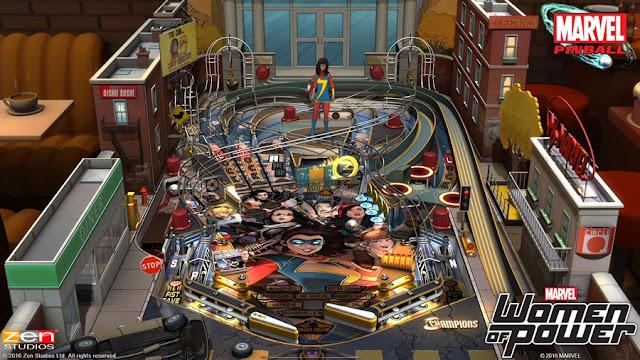 Pinball FX2 Marvel's Women of Power Free Download Photo