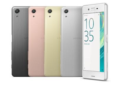 Sony Xperia X Performance Smartphone Anti Air Dengan Kamera 32MP 5