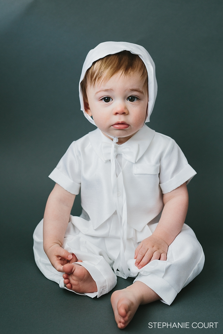 baptismal baby portraits