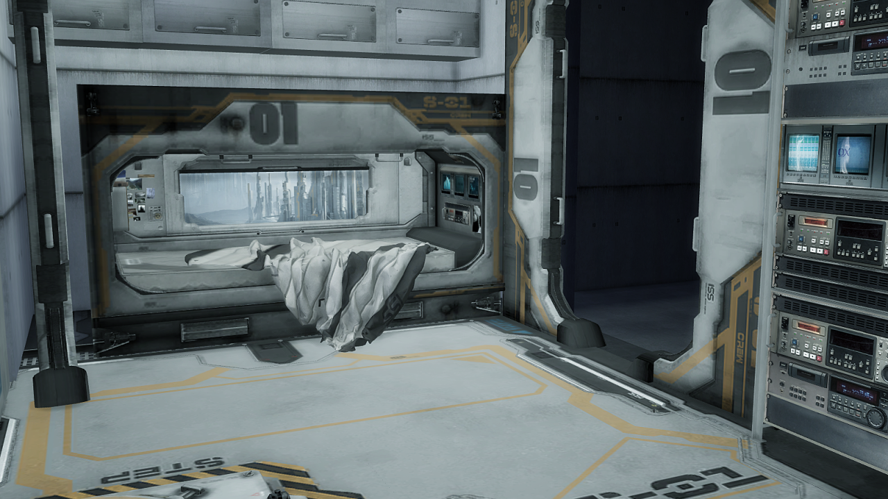 My Sims 4 Blog Ts2 Sci Fi Bedroom Set Conversion By Mimoto