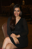 Kyra Dutta in black At Rogue Movie Audio Launch ~  030.JPG