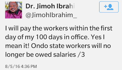 Jimoh Ibrahim denies owning a Twitter handle