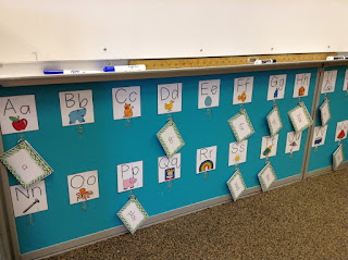 Interactive Word Wall with Seesaw QR Codes