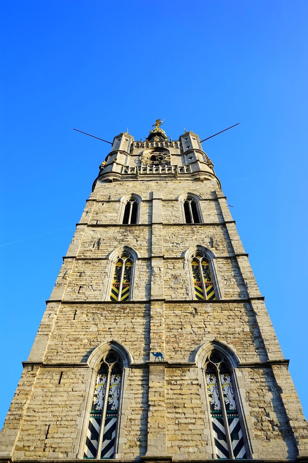 Le Chameau Bleu - Blog Voyage Gand Belgique - Gand Tourisme - Le Beffroi de Gand Belgique - Virée à Gand