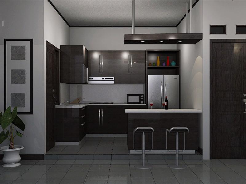desain dapur dan ruang makan sempit & 50 Desain Dapur Minimalis Terbaru 2018 - Model Desain Rumah Minimalis