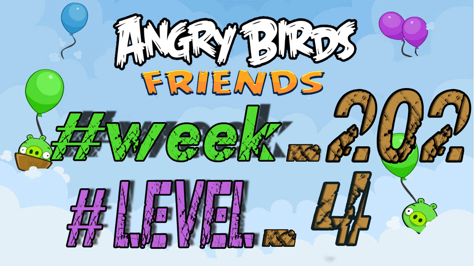 angry birds tournament level 4