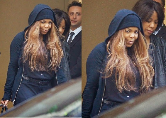 Janet Jackson Spotted Out Again
