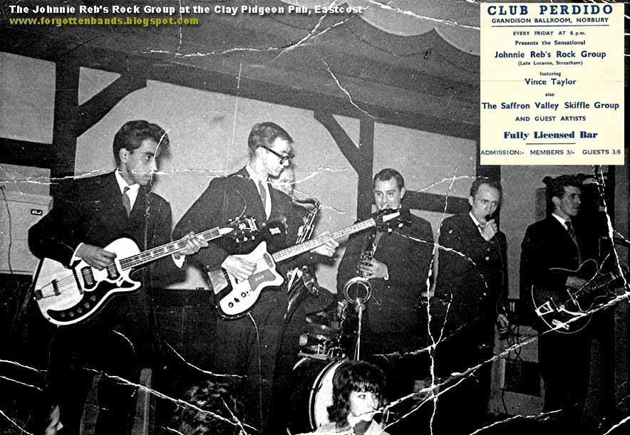 Obscure Bands Of The 50's & 60's: The Johnnie Reb's Rock Group