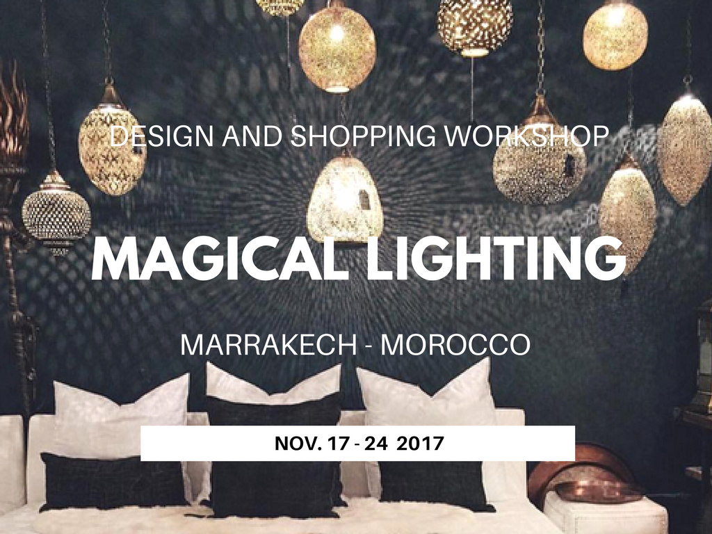 Interior Design & Shopping holiday in Marrakech