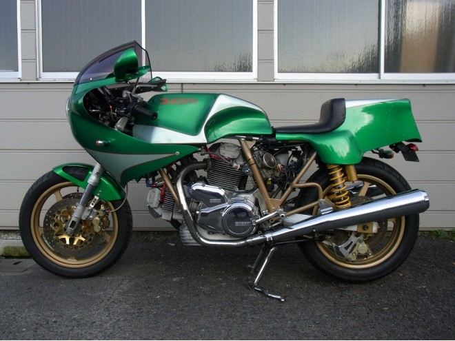 Racing Caf U00e8  Ducati Mhr 1000 Special