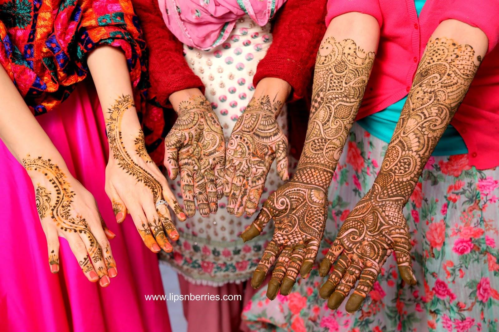 Mehendi Ceremony S List : Lips n berries my sisters wedding shenangians part henna