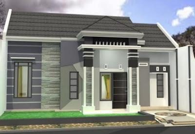 gambar desain model atap rumah type 36