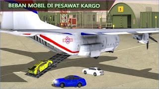 Game Pesawat 3D Mobil Mengangkut App