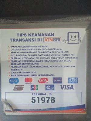 Tips Cara Aman Transaksi di ATM BRI