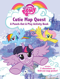 My Little Pony Cutie Map Quest Books