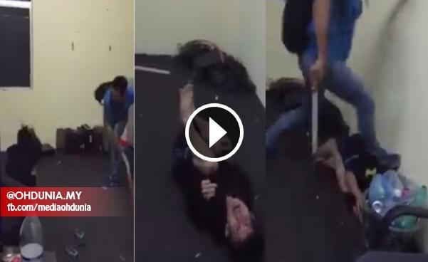 VIDEO Viral: Budak Jadi Mangsa Belasan Dipijak Di Tulang Rusuk