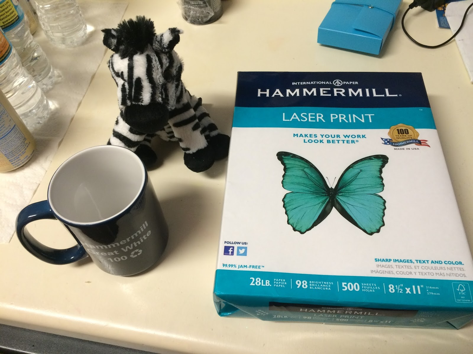 The Nerdy Unicorn: Hammermill laser printer paper review