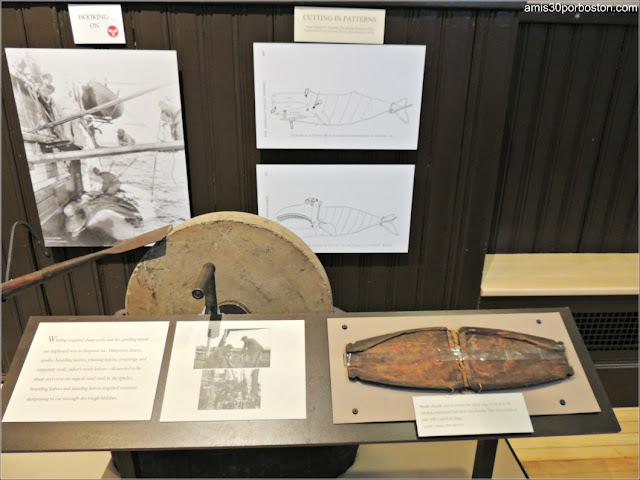 Colección de Objetos de la Caza de Ballenas en el Museo de New Bedford