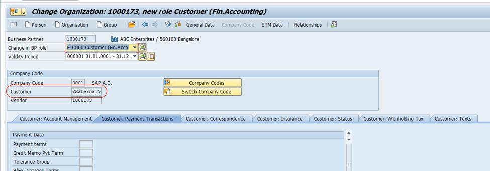 Business Partner In S4 Hana Customer Vendor Integration