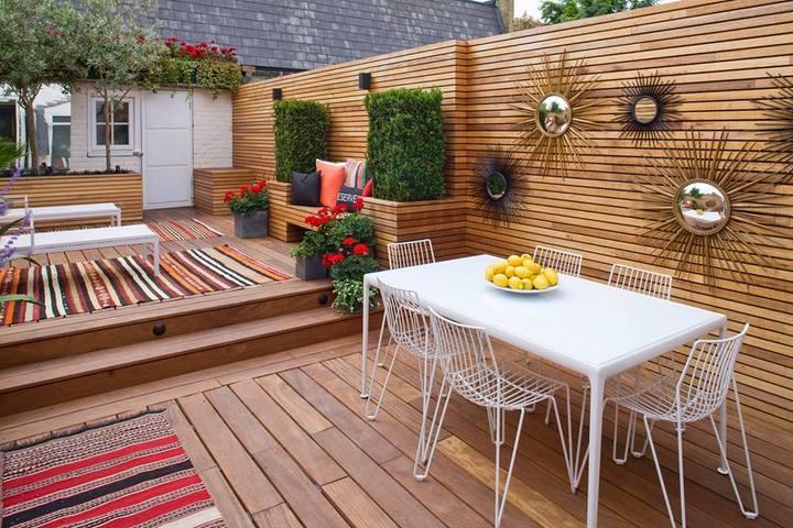 Jardines urbanos seg n clive nichols for Jardines en aticos