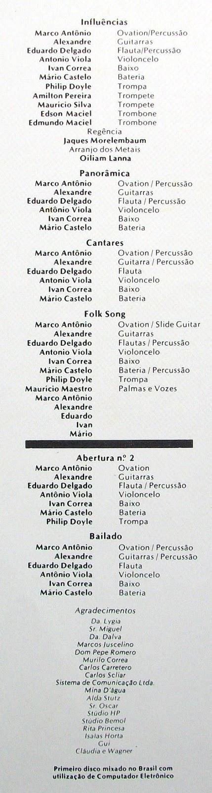 "johnkatsmc5: Marco Antônio Araújo ""Influências"" 1981 Brazil Prog ..."
