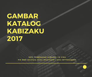 Gambar Katalog Kabizaku 2017