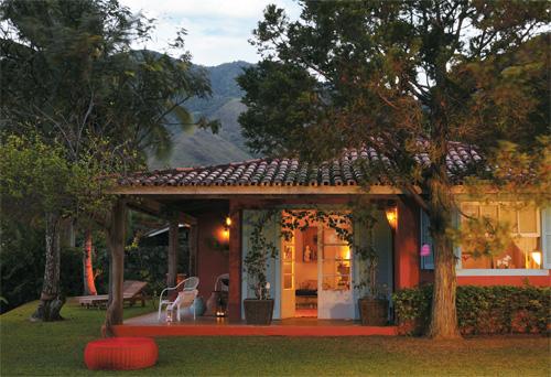 Paredes terracota jeito de casa blog de decora o e for Fotos de casas modernas brasileiras
