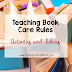 Teaching Book Care Rules - Activities and Ideas