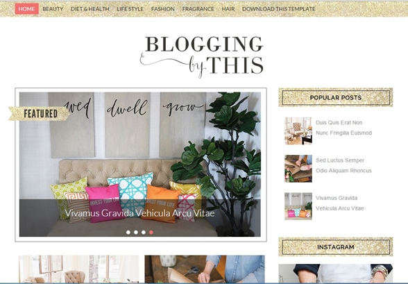 BLOGGING - SORA TEMPLATES