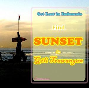 Lihat Sunset di Gili Trawangan
