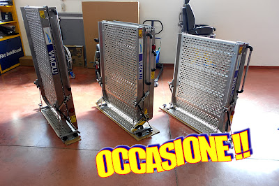 Barriere architettoniche rampe movia per disabili d 39 occasione for Mobili d occasione