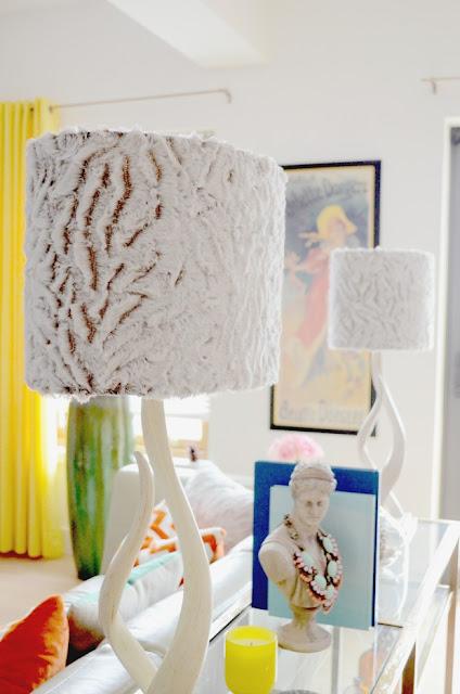 DIY.WestElm.Source Kudu Table Lamp.Makeover.Before+After