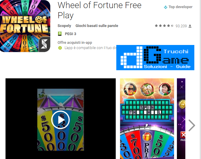 Trucchi Wheel of Fortune Free Play Mod Apk Android v4.0.3