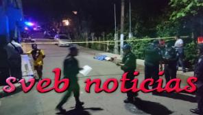 Policias matan a sujeto tras agredirlos en San Andres Tuxtla Veracruz